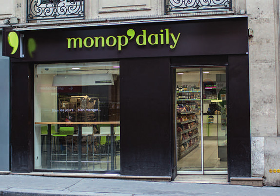 Monoprix Logo and Identity