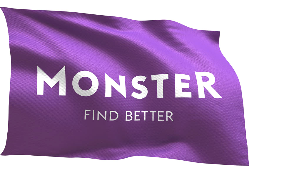 Brand New New Logo And Identity For Monster Com By Siegel