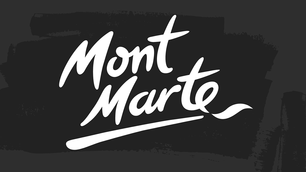New Logo, Identity, and Packaging for Mont Marte by Hulsbosch