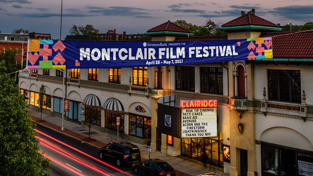 New Logo and Identity for Montclair Film by Hieronymus