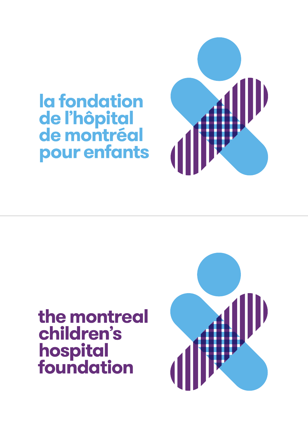 New Logo and Identity for Montreal Children's Hospital Foundation by Cossette