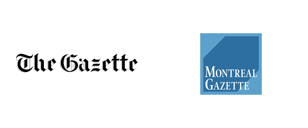 New Logo for Montreal Gazette by Winkreative
