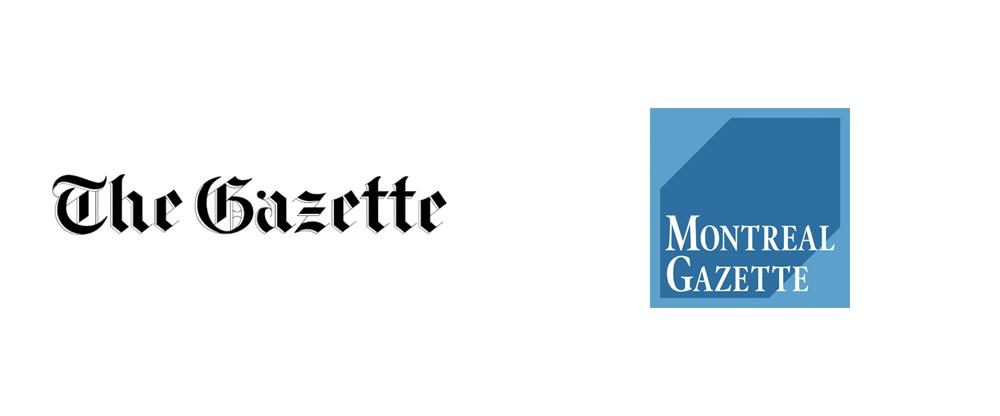 New Logo for Montreal Gazette by Winkreative