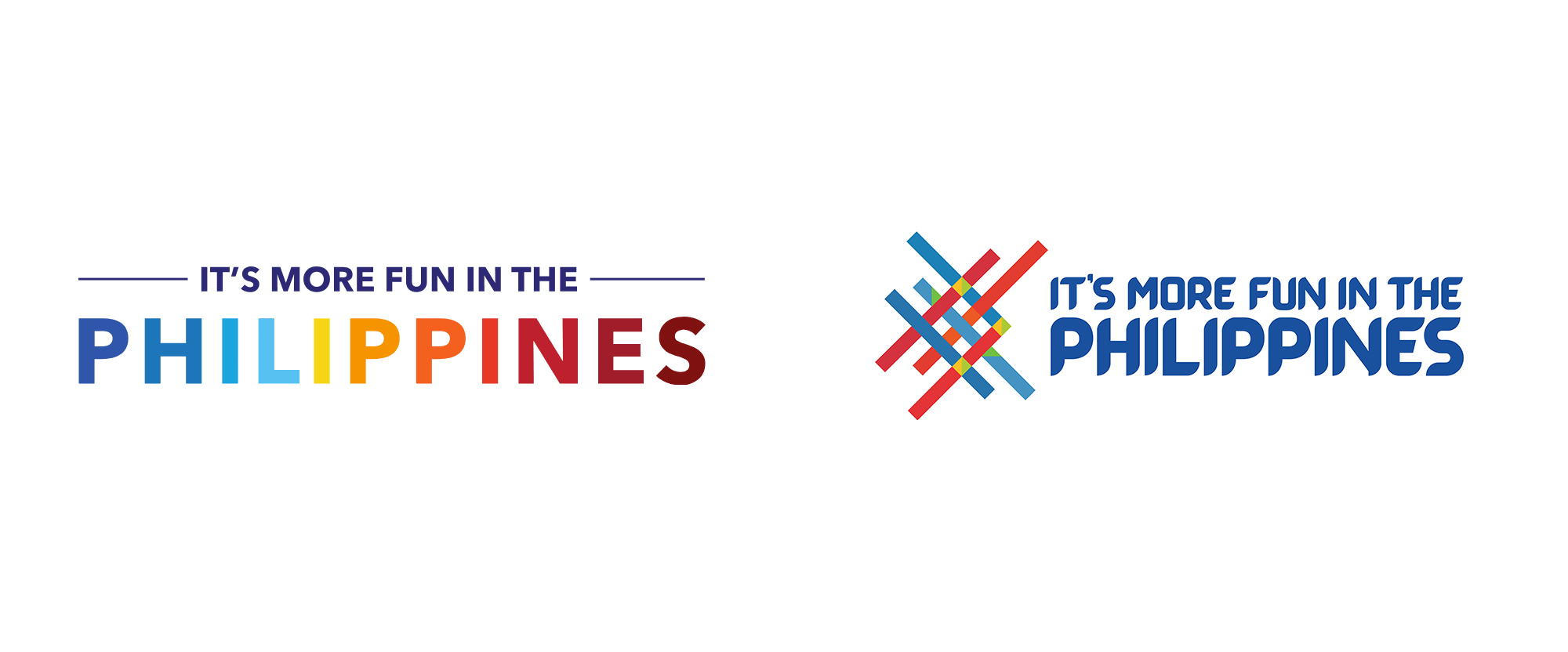 New Logo and Font for It's More Fun in the Philippines by BBDO Guerrero