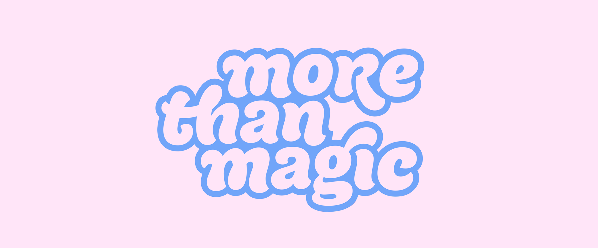 New Logo and Identity for More than Magic by COLLINS