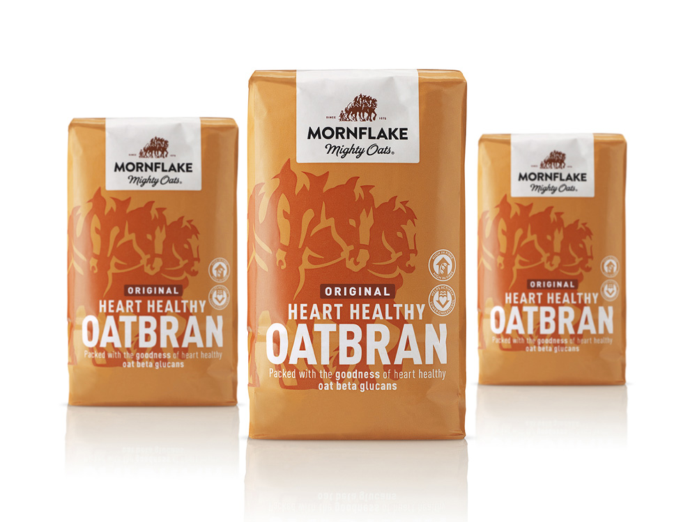 New Logo and Packaging for Mornflake by B&B