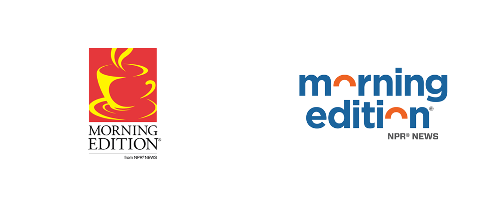 New Logo for Morning Edition