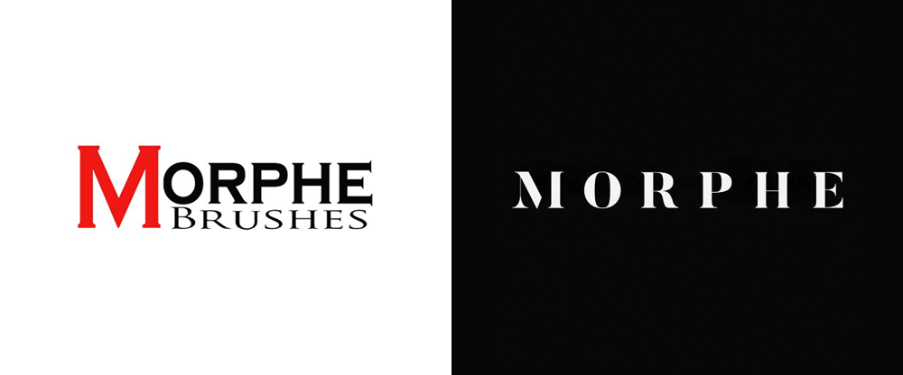 New Logo for Morphe Cosmetics