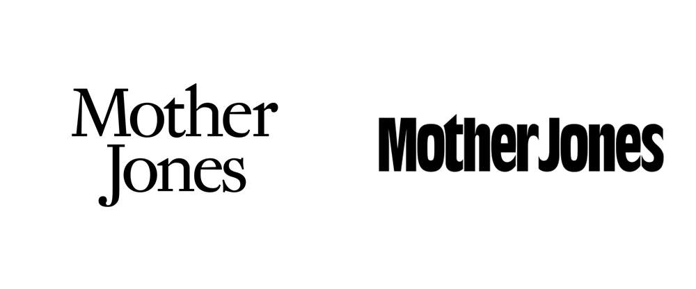 New Logo for Mother Jones done In-house