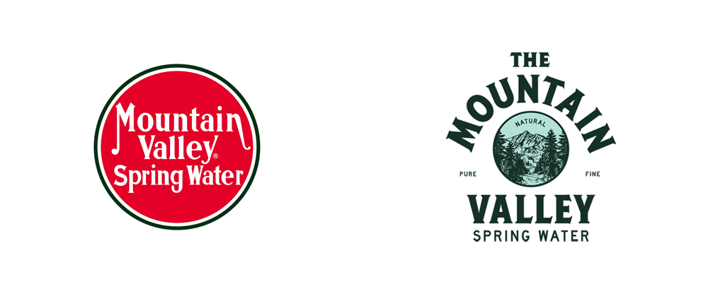 Brand New New Logo And Packaging For Mountain Valley