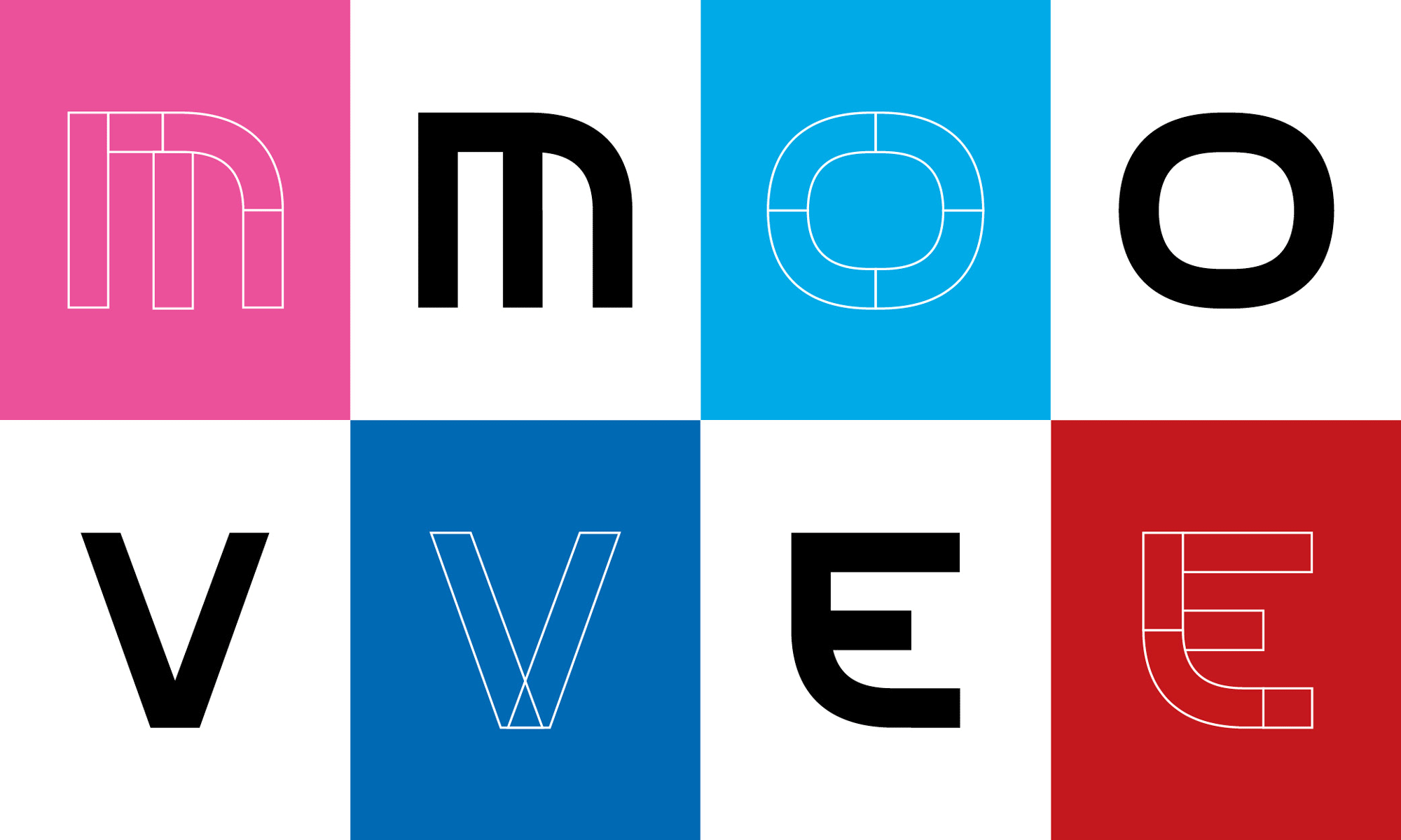 New Logo and Identity for Move United by Superunion