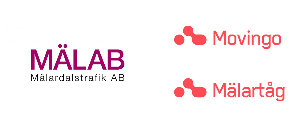 New Logo and Identity for Movingo and Mälartåg by Essen International