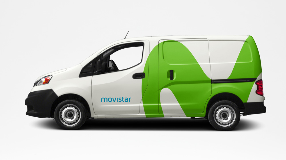 New Logo and Identity for Movistar by Lambie-Nairn
