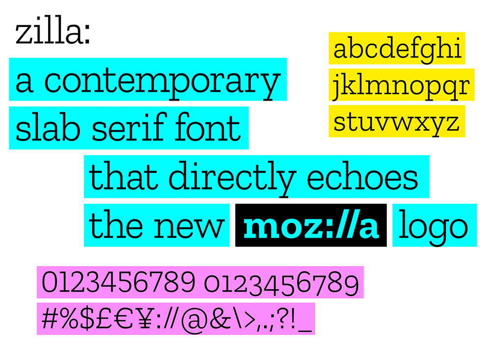 New Logo for Mozilla by johnson banks