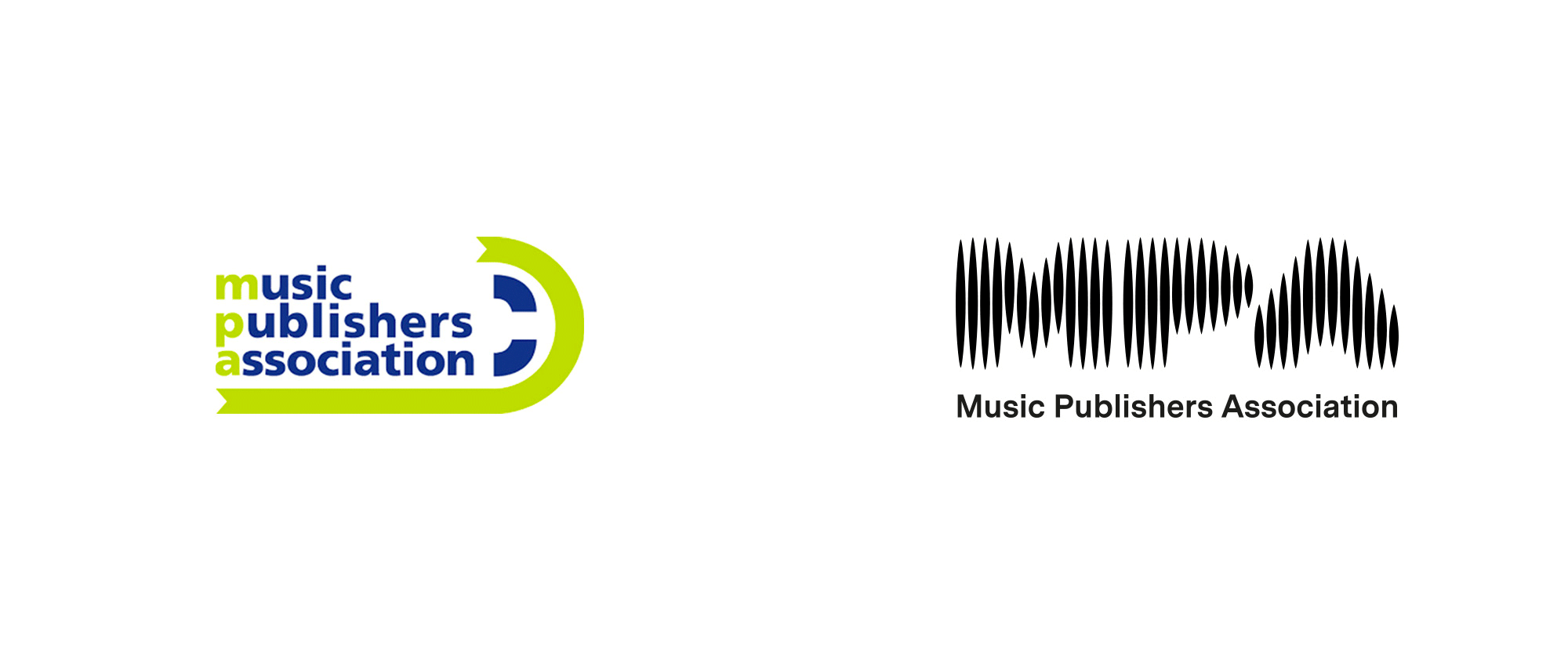 New Logo and Identity for Music Publishers Association by The Playground