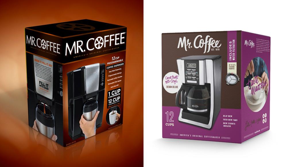 mr coffee packaging before after Mr Coffee Coffee Maker