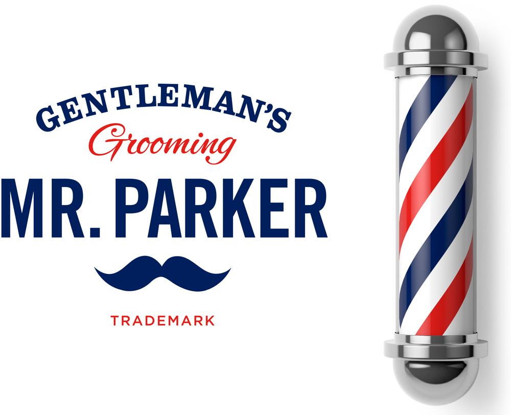 ¿os habeis dado cuenta que se han puesto de moda las barberías? Mr_parker_logo_detail