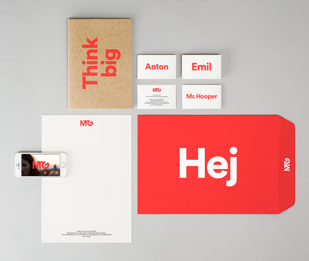 New Logo and Identity for MTG by BVD