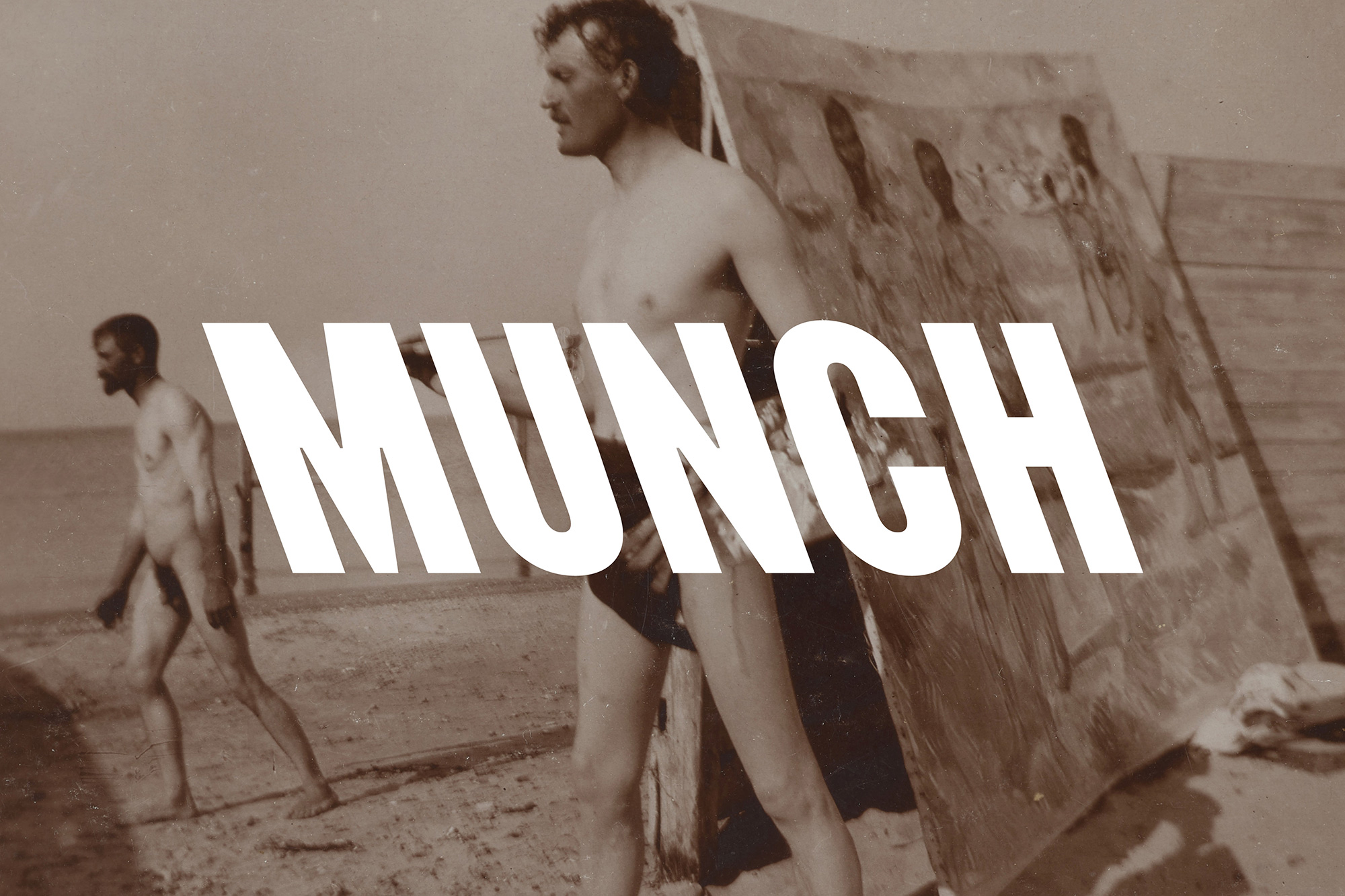 New Logo and Identity for MUNCH by North
