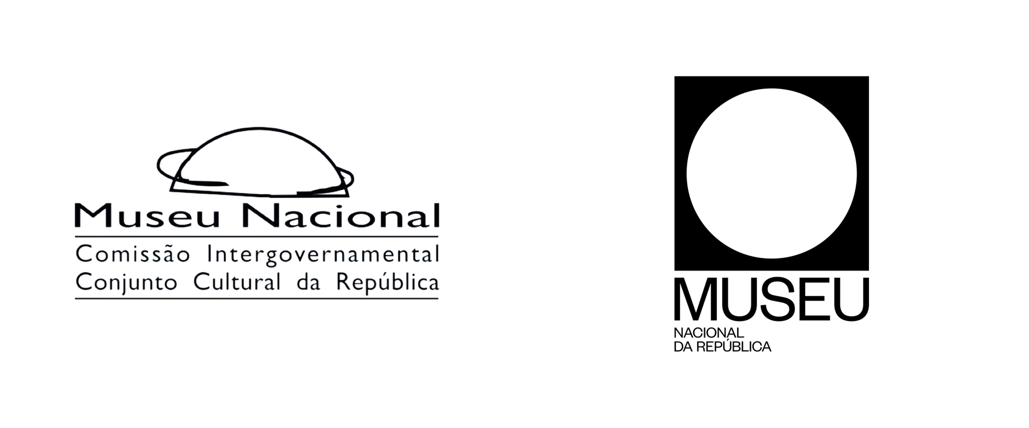 New Logo and Identity for Museu Nacional da República by Porto Rocha
