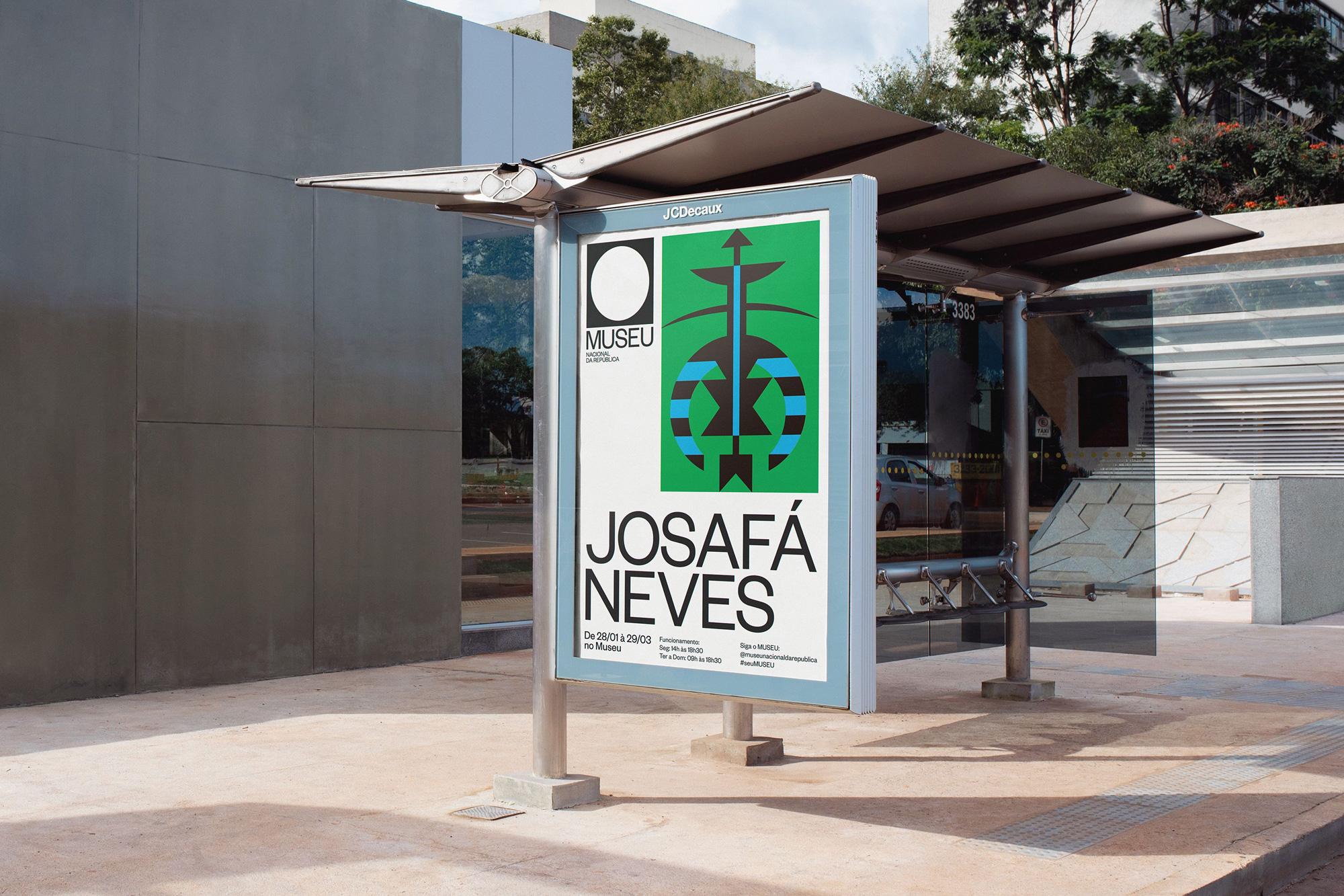 New Logo and Identity for Museu Nacional da República by Porto Rocha