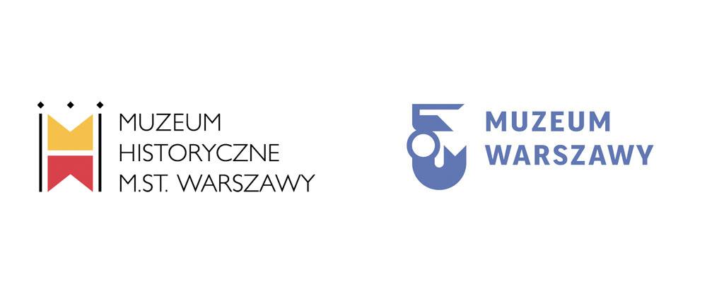 New Logo and Identity for Warsaw Museum by Ania Światłowska