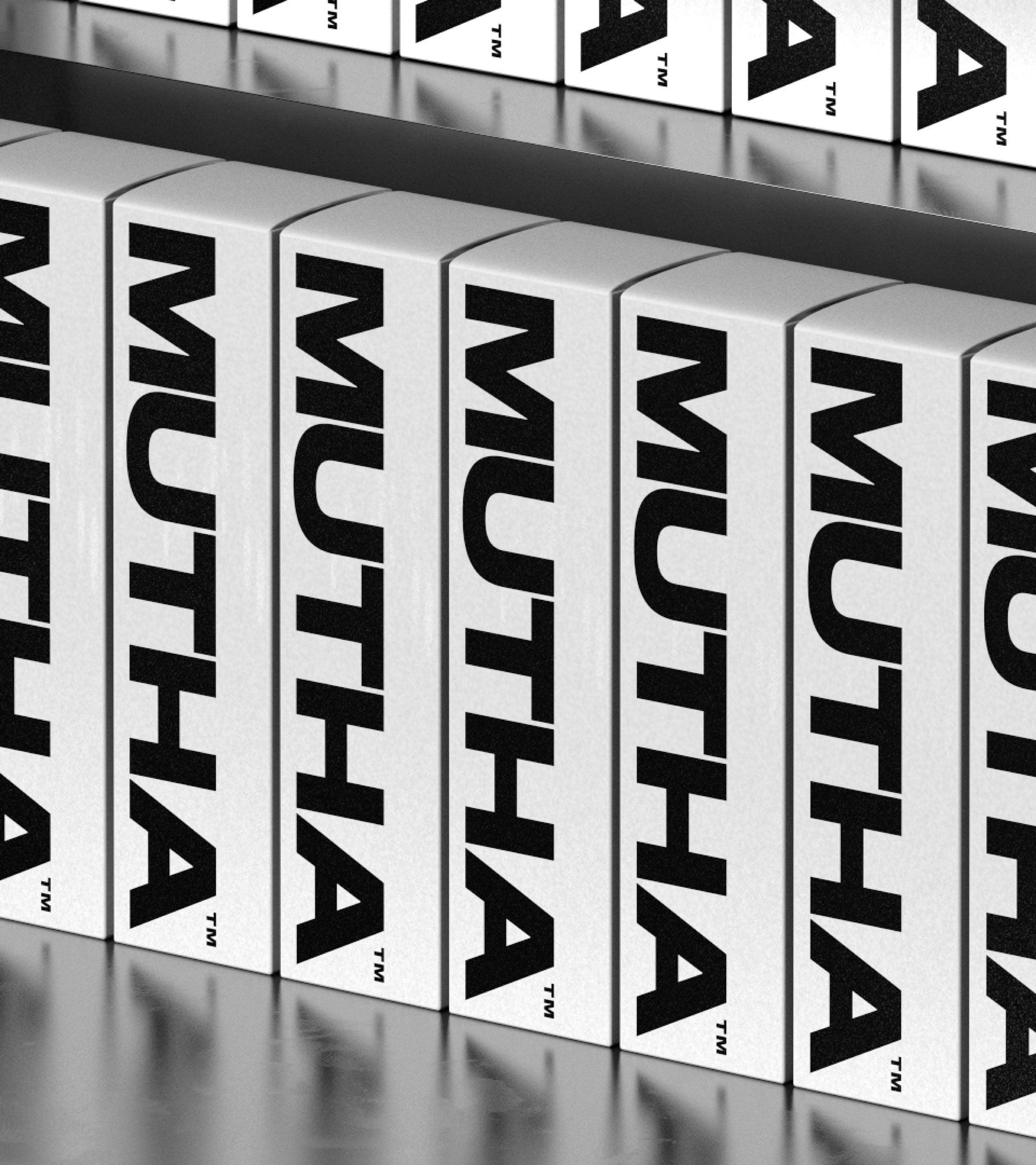 New Logo, Identity, and Packaging for MUTHA by Character