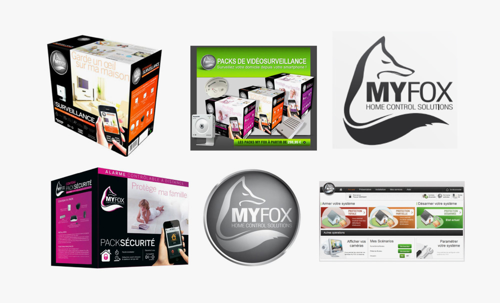 New Logo and Packaging for Myfox by Royalties