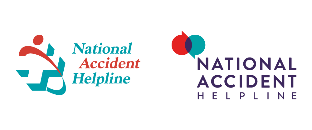 New Logo for National Accident Helpline by The Corner London