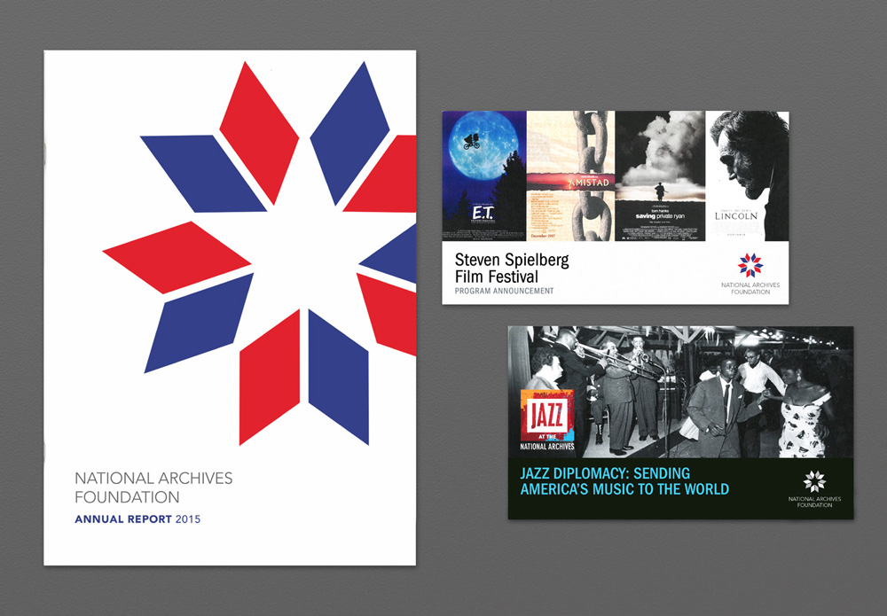New Logo for National Archives Foundation by SVA Student