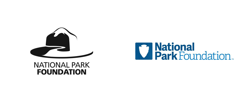 Brand New: New Logos for National Park Foundation and