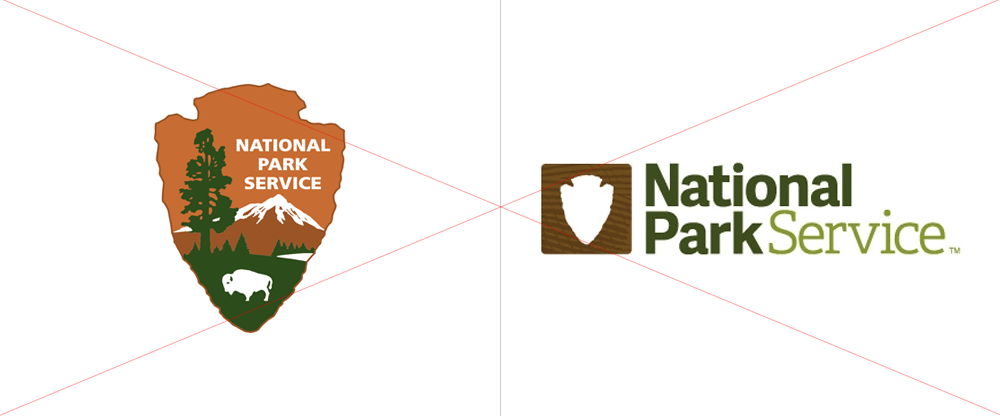 Brand New New Logos For National Park Foundation And Service By Grey