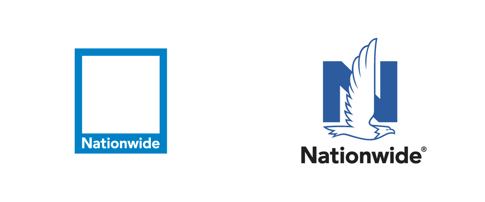 New Logo for Nationwide by Chermayeff & Geismar & Haviv