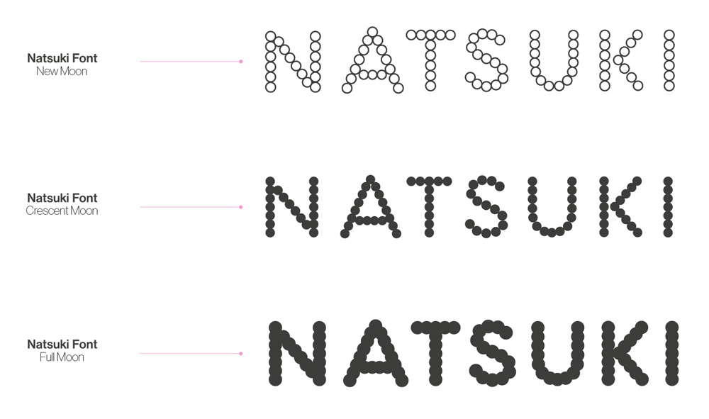 New Logo and Identity for Natsuki by Erretres