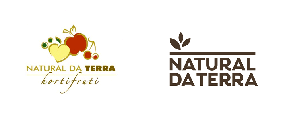 New Logo and Identity for Natural da Terra by Futurebrand