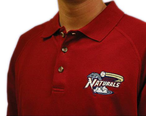 Northwest Arkansas Naturals Polo Shirt