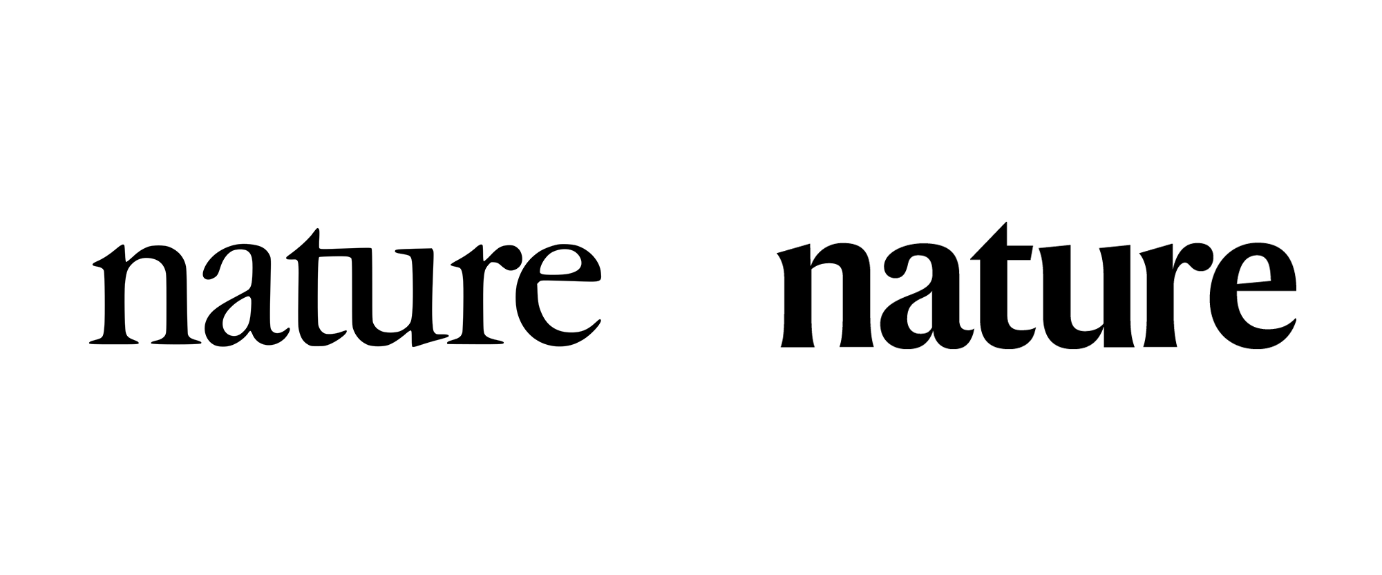 New Logo for Nature by Mark Porter Associates