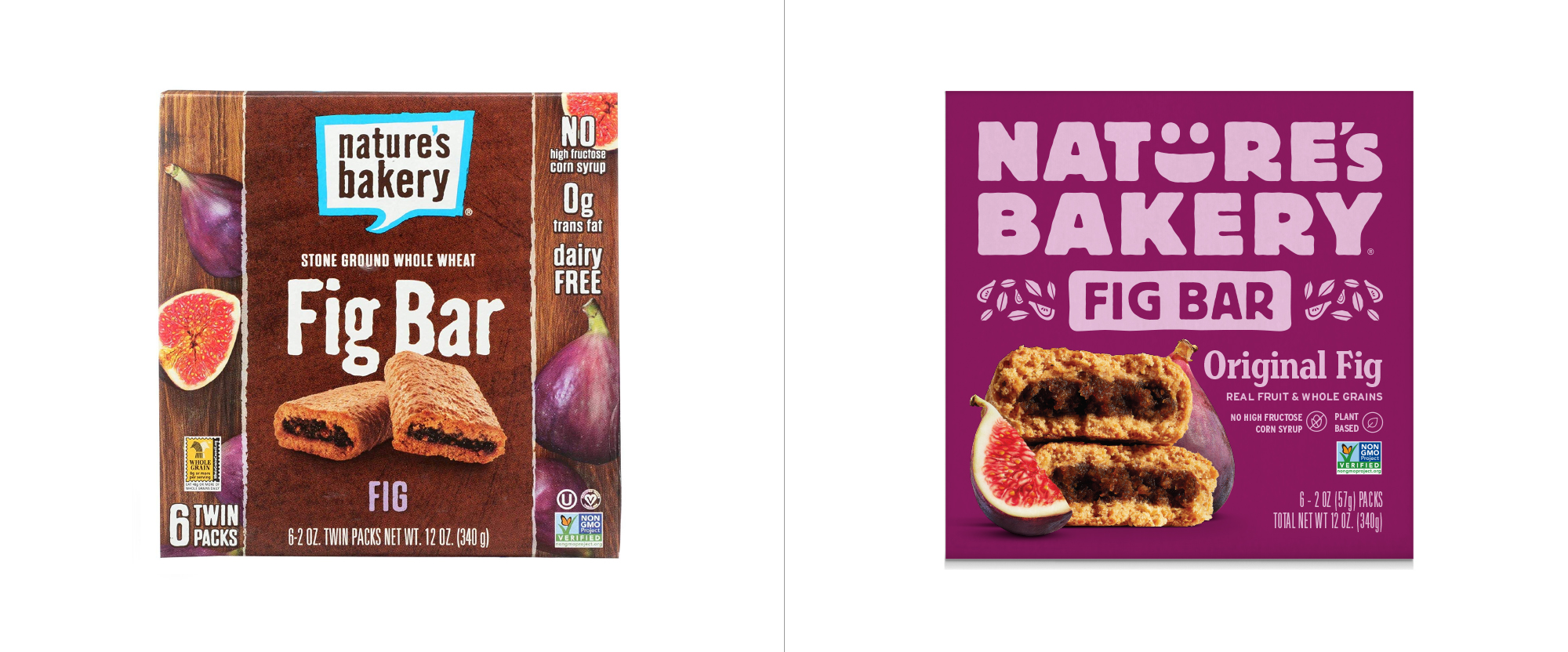 New Logo and Packaging for Nature's Bakery by Hatch Design