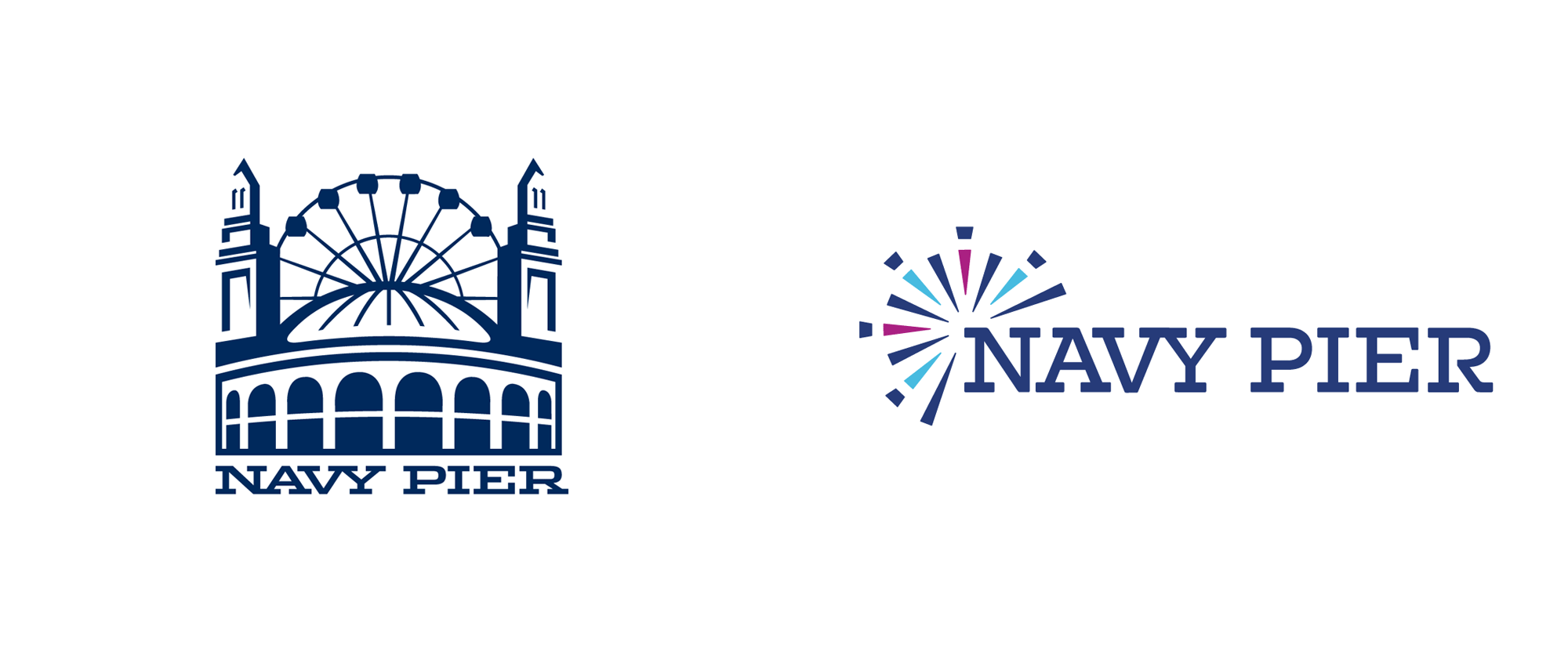 New Logo for Navy Pier by ColorJar
