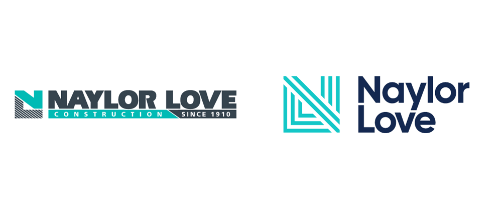 New Logo and Identity for Naylor Love by Strategy Creative