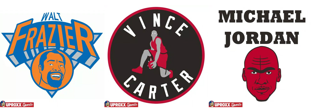 NBA Team Logos as their Best Players