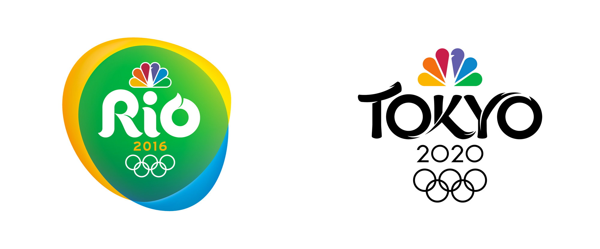 New Logo for NBC Olympics 2020 Broadcast by Mocean
