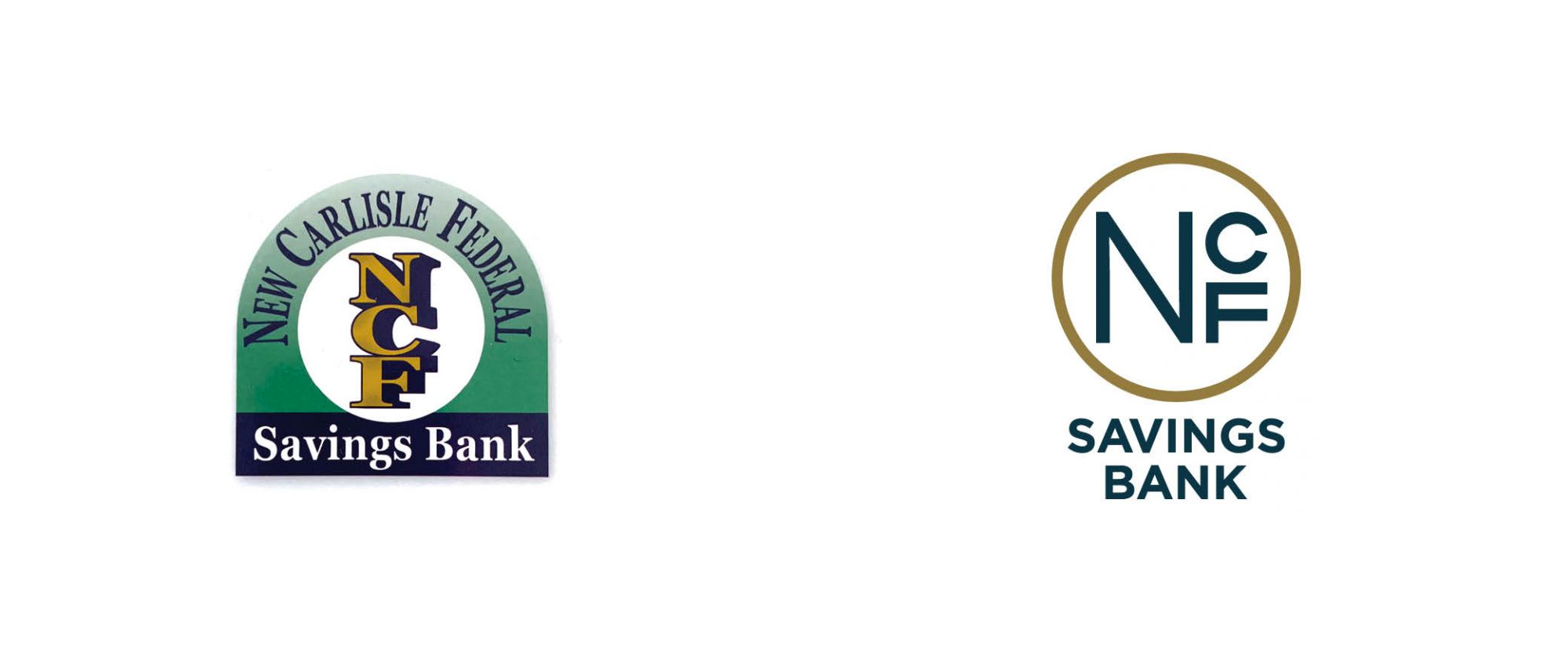 New Logo and Identity for New Carlisle Federal Savings Bank byHucklebuck Design Studio