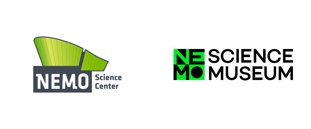 New Logo and Identity for NEMO Science Museum by Studio Dumbar