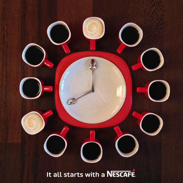 New Logo and Global Branding for Nescafé by Various