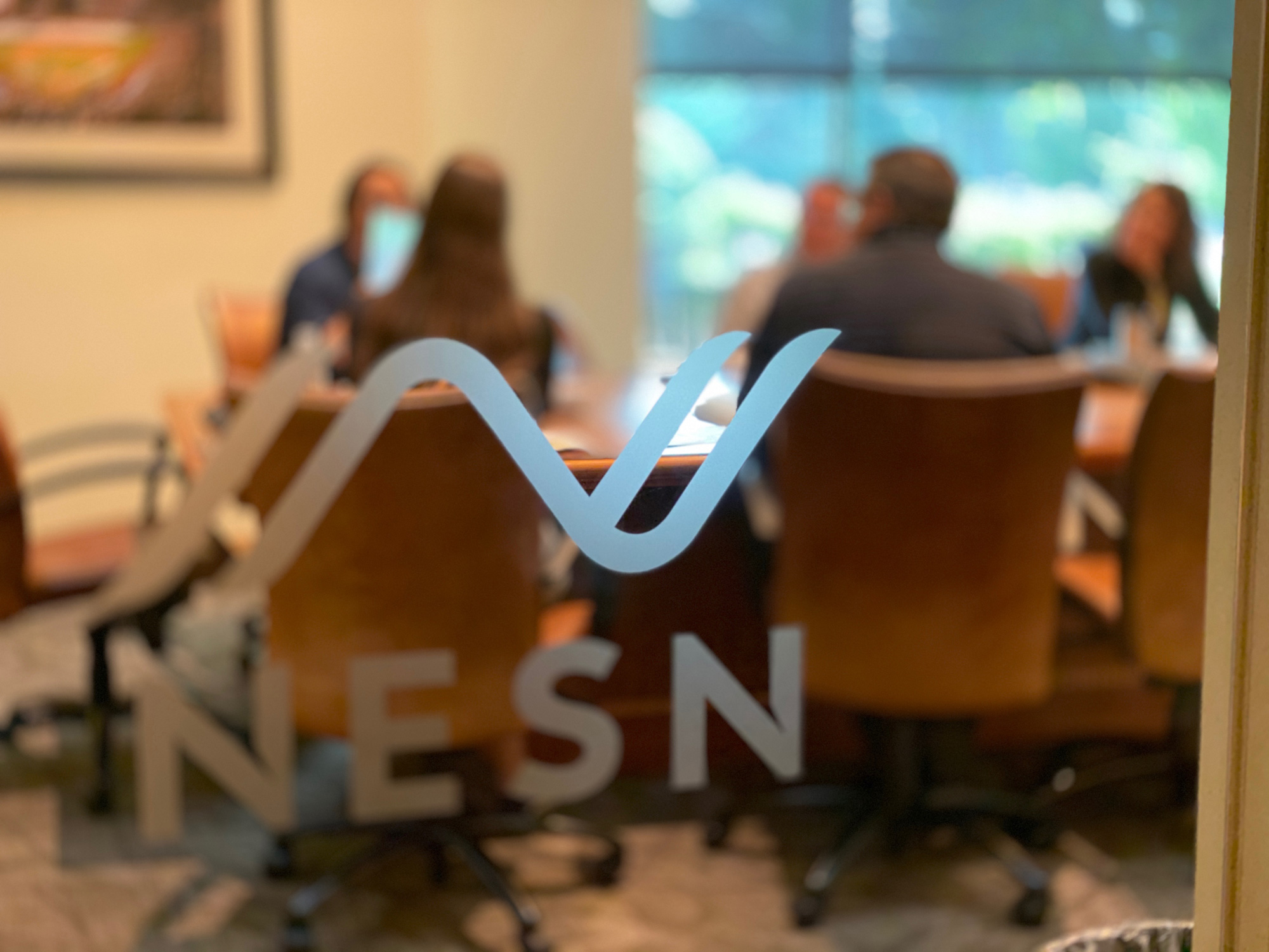 New Logo and Identity for NESN by MOCEAN