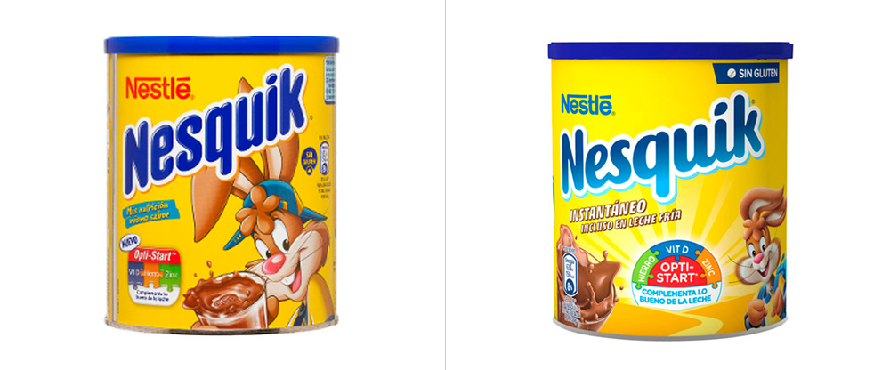 New Logo and Packaging for Nesquik by Futurebrand