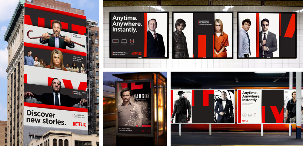 New Global Identity for Netflix by Gretel