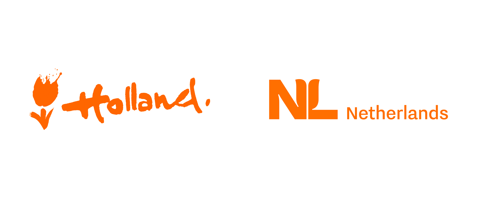 New Logo for Netherlands by Studio Dumbar
