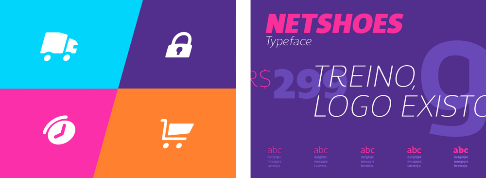 New Logo and Identity for Netshoes by Interbrand
